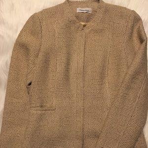 Calvin Klein Twill Blazer Size 12